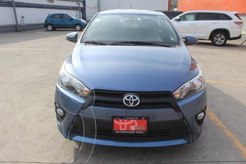 Toyota Yaris 5P 1.5L S Aut usado (2017) color Azul Claro precio $229,000
