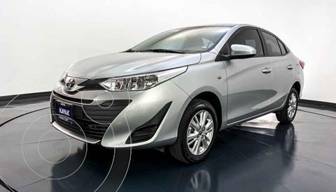 Toyota Yaris Core Aut usado (2018) color Gris precio $214,999