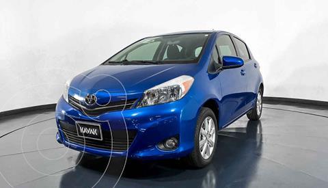 Toyota Yaris 5P 1.5L Premium Aut usado (2014) color Azul precio $157,999
