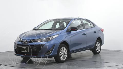 Toyota Yaris 5P 1.5L S usado (2019) color Azul precio $253,464
