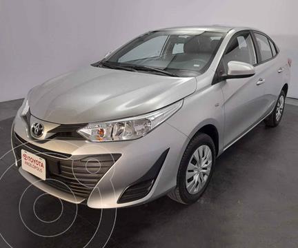 Toyota Yaris Core usado (2019) color Plata precio $225,000