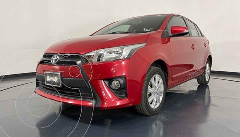 Toyota Yaris LE Aut usado (2017) color Rojo precio $217,999