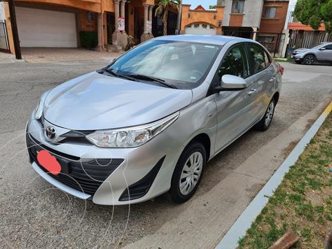 Toyota Yaris 5P 1.5L Core usado (2018) color Plata precio $200,000