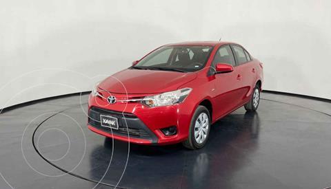 Toyota Yaris Core Aut usado (2017) color Rojo precio $189,999