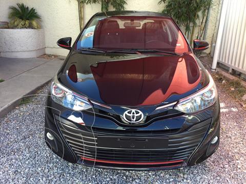 Toyota Yaris 3P 1.5L RS usado (2020) color Negro precio $258,000