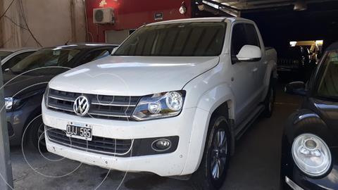 Volkswagen Amarok DC 4x4 Ultimate usado (2014) color Blanco Candy precio $3.500.000