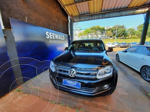 Volkswagen Amarok 2.0 TDI (180cv) 4x2 C/Doble Highline Pack usado (2012) color Negro precio $3.200.000