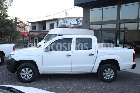 Volkswagen Amarok C/Doble 2.0 TDI (140cv) 4x2 Startline usado (2013) color Blanco precio $1.800.000