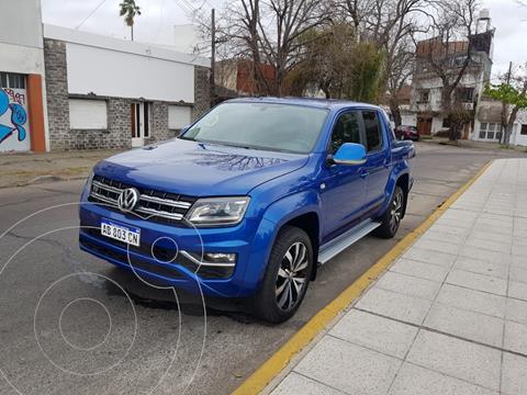 Volkswagen Amarok DC 4x4 Extreme V6 Aut usado (2017) color Azul Brillante precio $2.940.000
