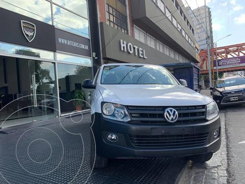 Volkswagen Amarok DC 4x2 Trendline (180Cv) usado (2012) color Blanco Candy financiado en cuotas(anticipo $1.100.000 cuotas desde $30.000)