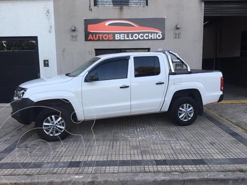 Volkswagen Amarok SC 4x2 Startline usado (2015) color Blanco precio $1.880.000