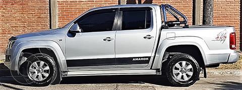 Volkswagen Amarok DC 4x4 Trendline (180Cv)  usado (2013) color Gris precio $3.250.000