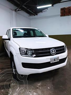 Volkswagen Amarok DC 4x2 Startline (140Cv) usado (2015) color Blanco Cristal precio $2.600.000