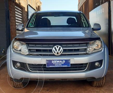 Volkswagen Amarok 2.0 TDI (180cv) 4x2 C/Doble Highline usado (2011) color Gris Plata  precio $2.420.000