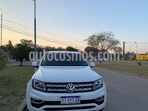 Volkswagen Amarok DC 4x2 Highline Pack (180Cv) Aut  usado (2017) color Blanco precio $2.500.000