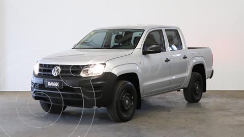 foto Volkswagen Amarok SC 4x2 Startline  usado (2017) color Gris Off-Road precio $3.080.000