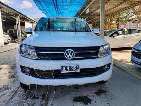 Volkswagen Amarok DC 4x2 Trendline (180Cv)  usado (2015) color Blanco precio $2.900.000