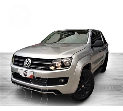 Volkswagen Amarok 2.0 TDI (180cv) 4X4 Dark Label AT usado (2016) color Gris precio u$s32.800