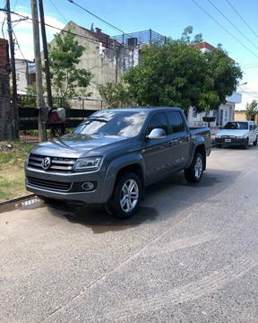 Volkswagen Amarok DC 4x4 Highline Pack (180Cv) usado (2016) color Gris Off-Road precio $2.800.000