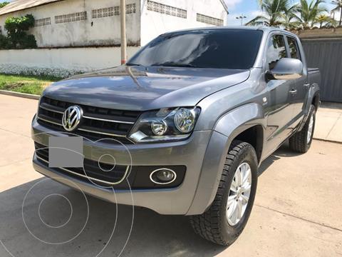Volkswagen Amarok Highline 4x4 Full Aut usado (2014) color Gris precio $12.000.000