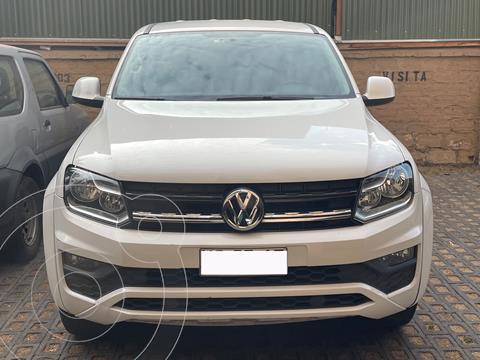 Volkswagen Amarok 2.0L Trendline 4x2 usado (2018) color Blanco precio $17.500.000