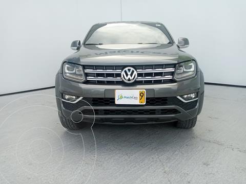 Volkswagen Amarok Highine 4x4 Aut CD usado (2019) color Gris precio $111.990.000