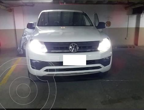 Volkswagen Amarok Trendline 4x4 CD usado (2017) color Blanco precio $60.000.000