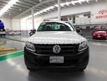 Foto venta Auto usado Volkswagen Amarok Entry 4x4 Gasolina (2014) color Blanco precio $225,000