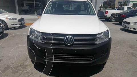 Volkswagen Amarok Entry 4x4 TDi usado (2017) color Blanco precio $295,000