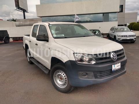 Volkswagen Amarok Entry 4x2 TDi  usado (2016) color Blanco precio $310,000