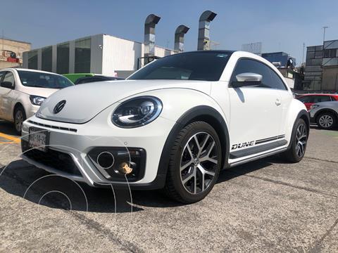 Volkswagen Beetle Dune DSG usado (2017) color Blanco financiado en mensualidades(enganche $72,000 mensualidades desde $4,980)