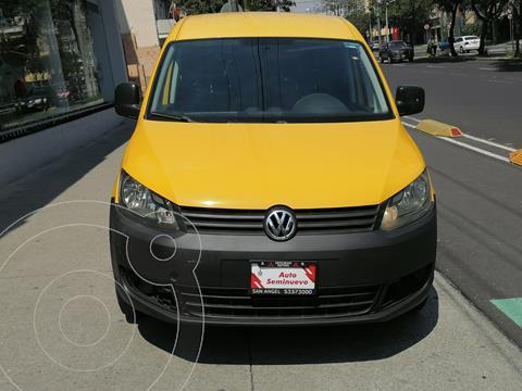Volkswagen Caddy Maxi usado (2015) color Blanco Candy precio $218,000