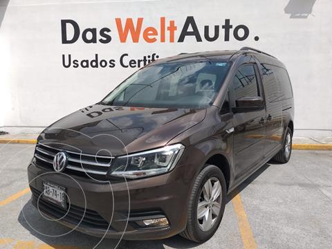 Volkswagen Caddy MAXI COMFORTLINE PASAJEROS TM 4CIL 5P 7 OCP usado (2020) color MARRON CASTANO precio $455,000
