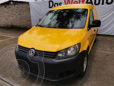 Volkswagen Caddy MAXI CARGO VAN L4 1.2L 104HP MT AA usado (2015) color Amarillo precio $189,000