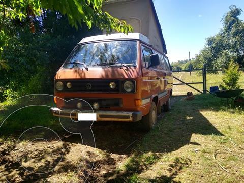 Volkswagen Camper Kombi usado (1984) color Marron precio $9.500.000