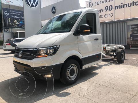 Volkswagen Crafter Chasis Cabina 3.5T MWB usado (2020) color Blanco financiado en mensualidades(enganche $145,194 mensualidades desde $15,415)