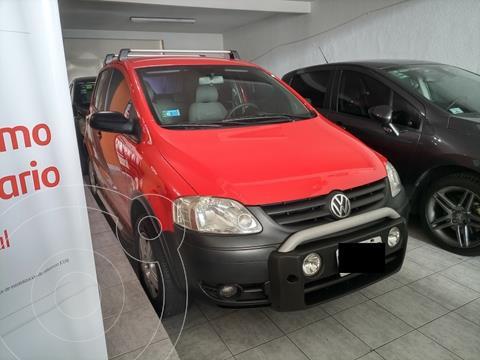 Volkswagen CrossFox Trendline usado (2006) color Rojo precio $789.900