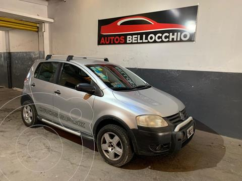 Volkswagen CrossFox Trendline usado (2007) color Gris financiado en cuotas(anticipo $400.000)