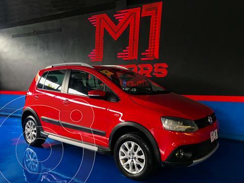 Volkswagen CrossFox 1.6L ABS usado (2013) color Rojo Tornado financiado en mensualidades(enganche $82,000 mensualidades desde $5,300)