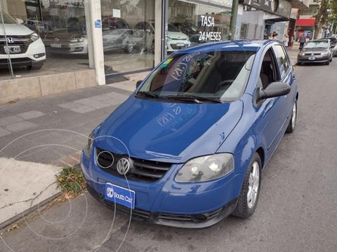 Volkswagen Fox 5P Route usado (2007) color Azul Celeste precio $615.000