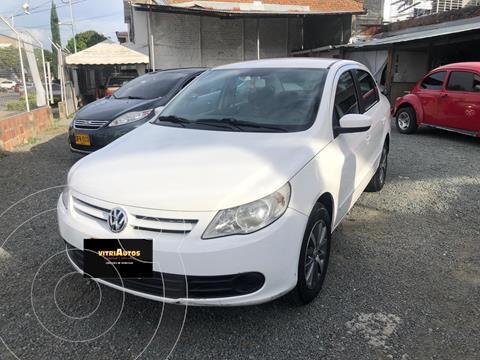 Volkswagen Gol Sedan 1.6L Comfortline usado (2009) color Blanco precio $19.500.000