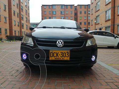 Volkswagen Gol Sedan 1.6L Comfortline usado (2009) color Negro precio $19.500.000