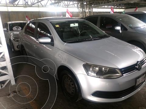 Volkswagen Gol Sedan CL Aire usado (2016) color Plata financiado en mensualidades(enganche $25,000 mensualidades desde $3,275)