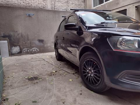 Volkswagen Gol Sedan CL Aire usado (2014) color Negro precio $105,000