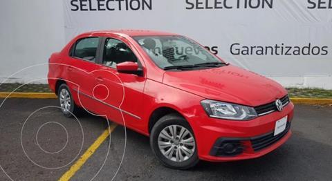 foto Volkswagen Gol Sedán Trendline usado (2018) color Rojo Flash precio $162,000