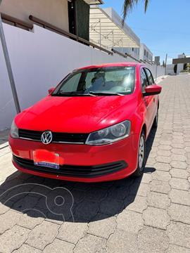 foto Volkswagen Gol Sedán CL Aire usado (2016) color Rojo Flash precio $108,000