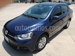 Foto venta Auto usado Volkswagen Gol Sedan Trendline (2017) color Azul Noche precio $155,000