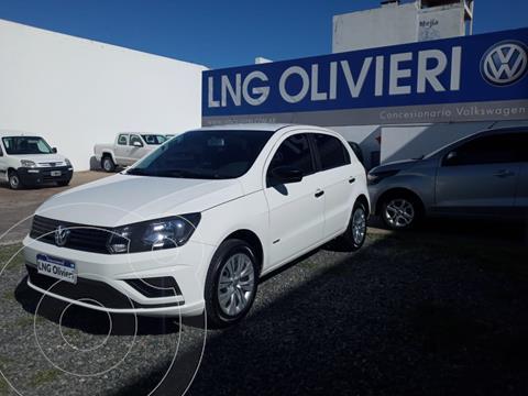 Volkswagen Gol Trend 5P Trendline usado (2019) color Blanco Cristal precio $1.180.000