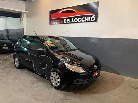 Volkswagen Gol Trend 5P Pack I usado (2012) color Negro financiado en cuotas(anticipo $450.000)
