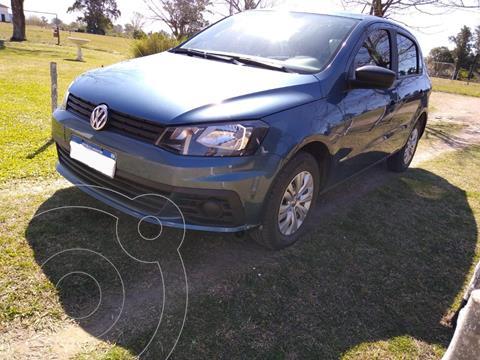 Volkswagen Gol Trend 5P Trendline usado (2018) color Azul precio $1.170.000